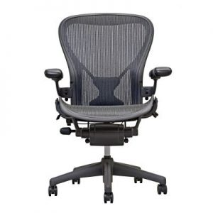 Aeron-Chair-By-Herman-Miller-Highly-Adjustable-Graphite-Frame-With-Posturefit-Size-B-0-0