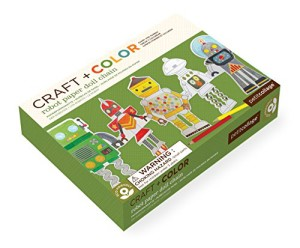 Petit-Collage-Paper-Doll-Chain-Craft-and-Color-Robot-0