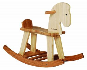 EverEarth Bamboo Rocking Horse