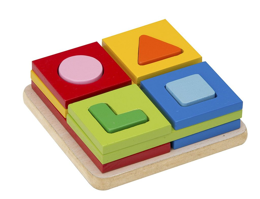 Multi-Shapes Sorter Toy by Wonderworld