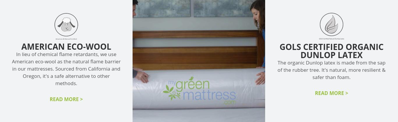 Photo of My Green Mattress' certifications