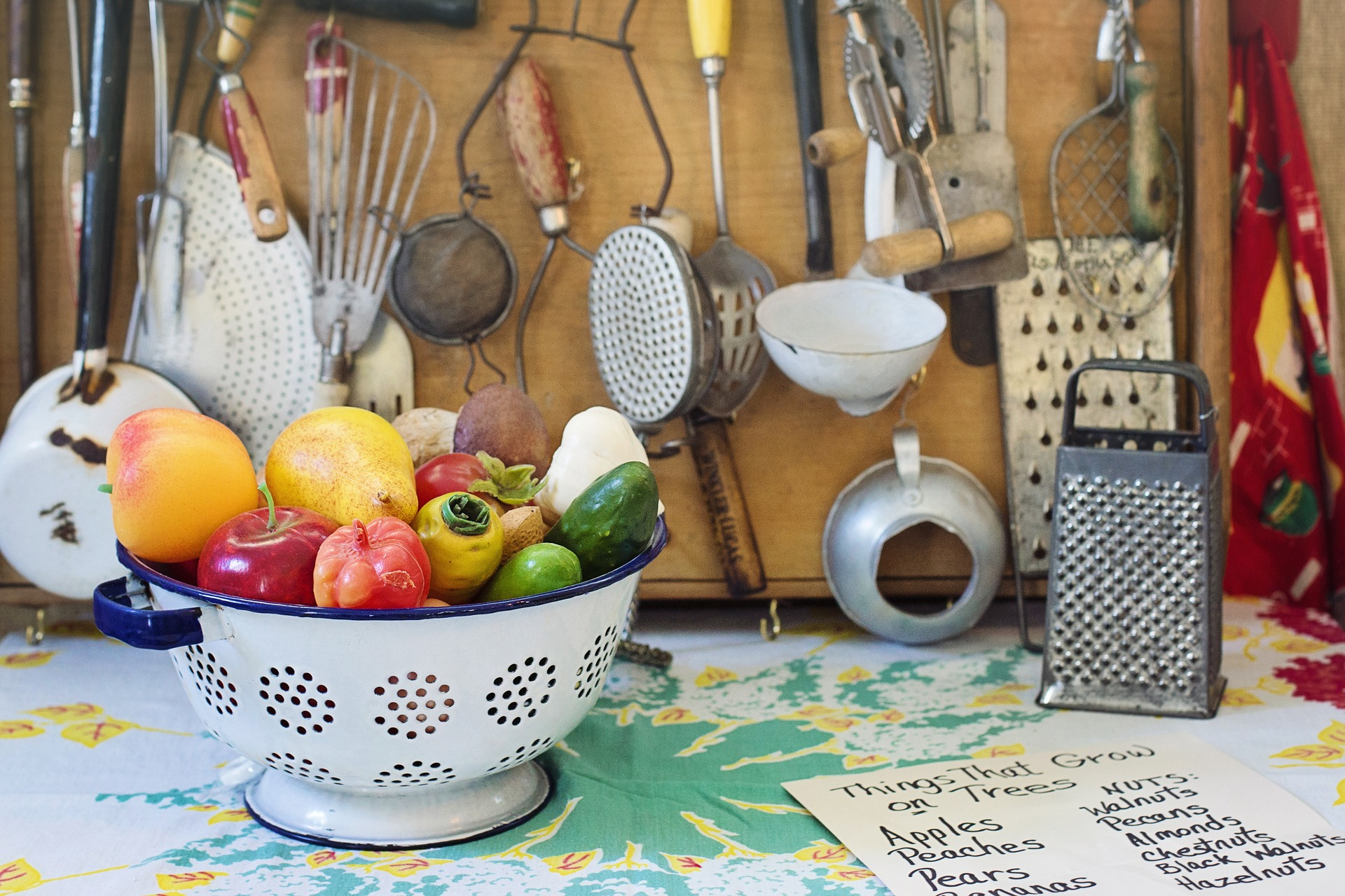 Eco Friendly Kitchen Utensils From