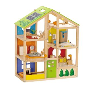 All Seasons by Hape Eco-friendly dollhouse