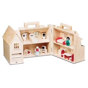 Fold & Go by Melissa & Doug Eco-friendly dollhouse