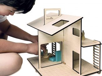Ecofriendly dollhouse
