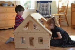 Our Maine Dollhouse by Elves & Angels environmentally friendly