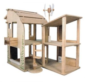 The Green Dollhouse by PlanToys Eco-friendly